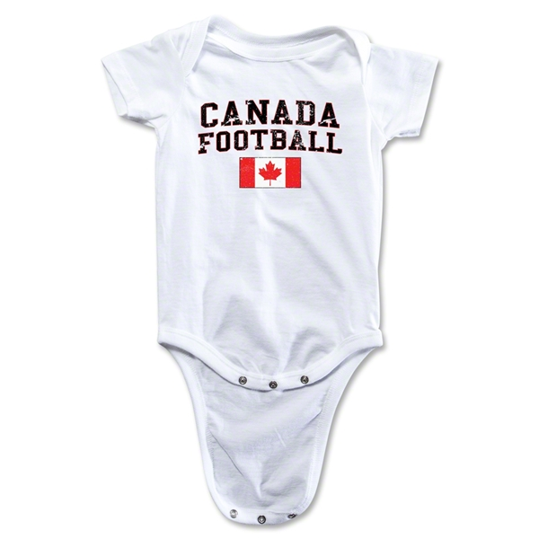 Canada Football Onesie (White)