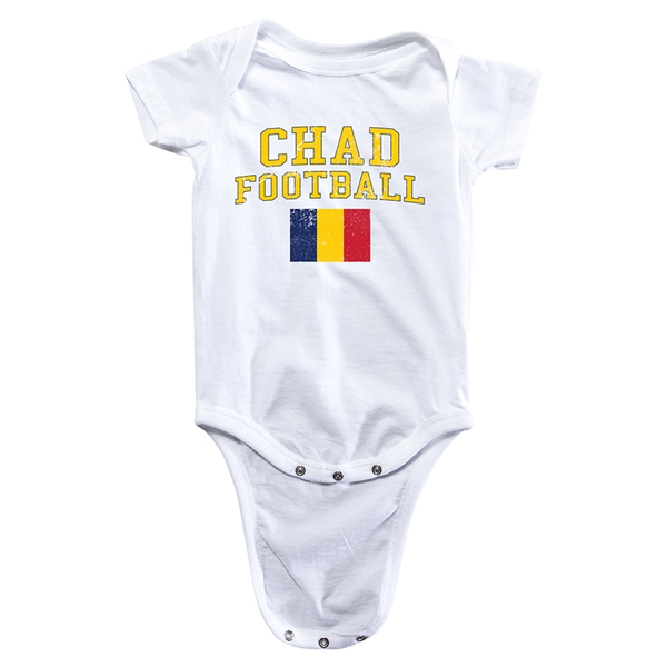 Chad Football Onesie (White)