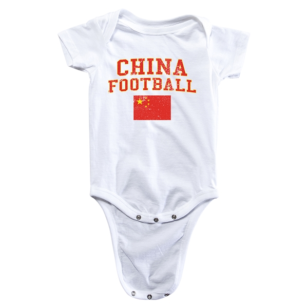 China Football Onesie (White)