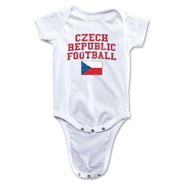 Czech Republic Football Onesie (White)