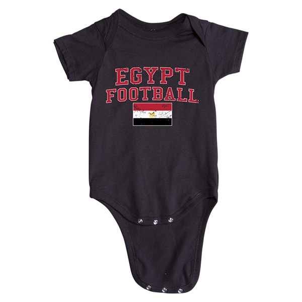Egypt Football Onesie (Black)