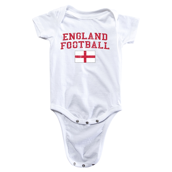 England Football Onesie (White)