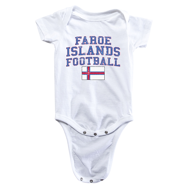 Faroe Islands Football Onesie (White)