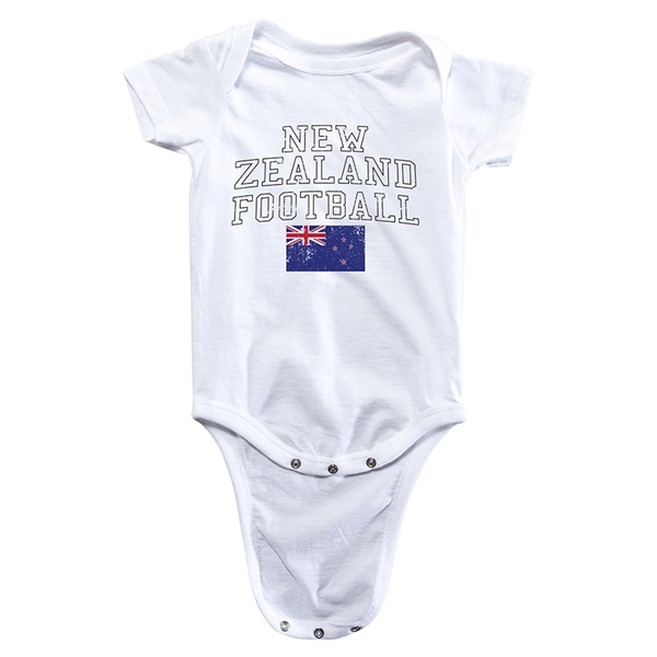 New Zealand Football Onesie (White)
