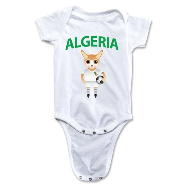 Algeria Animal Mascot Onesie (White)