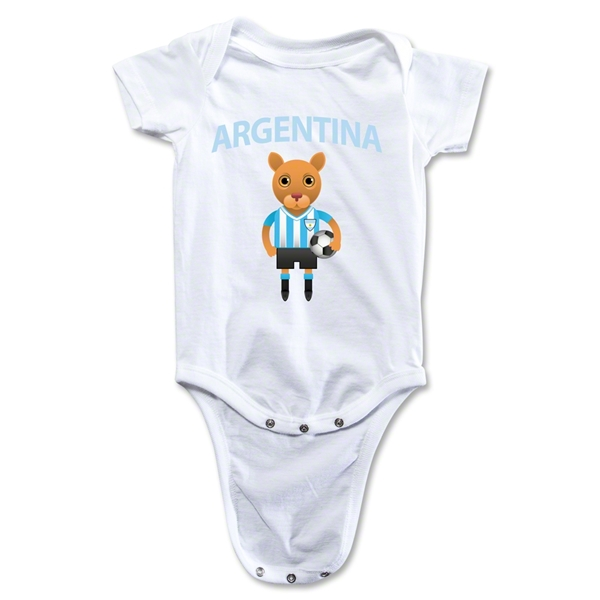 Argentina Animal Mascot Onesie (White)