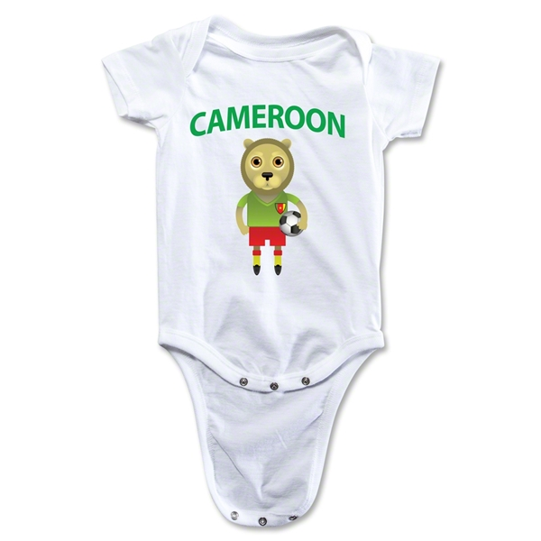 Cameroon Animal Mascot Onesie (White)
