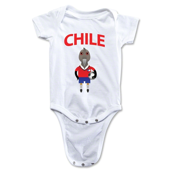 Chile Animal Mascot Onesie (White)