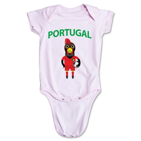 Portugal Animal Mascot Onesie (Pink)
