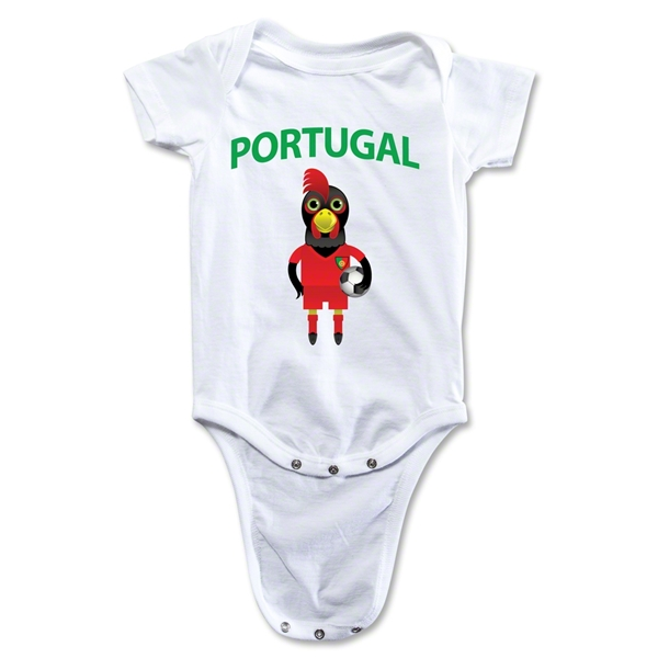 Portugal Animal Mascot Onesie (White)