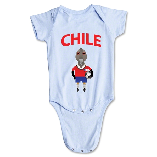 Chile Animal Mascot Onesie (Sky)