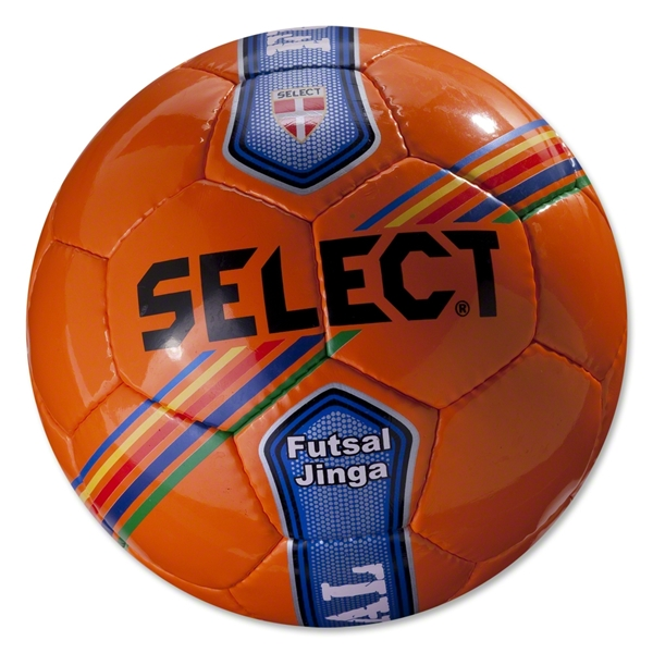 Select Futsal Jinga Senior Ball (Orange/Stripe)