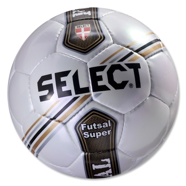 Select Futsal Jinga Junior Ball (White/Stripe)