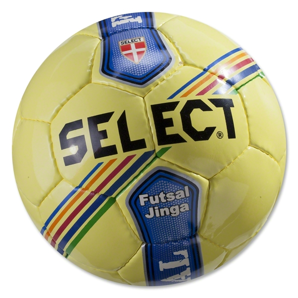 Select Futsal Jinga Junior Ball (Yellow/Stripe)