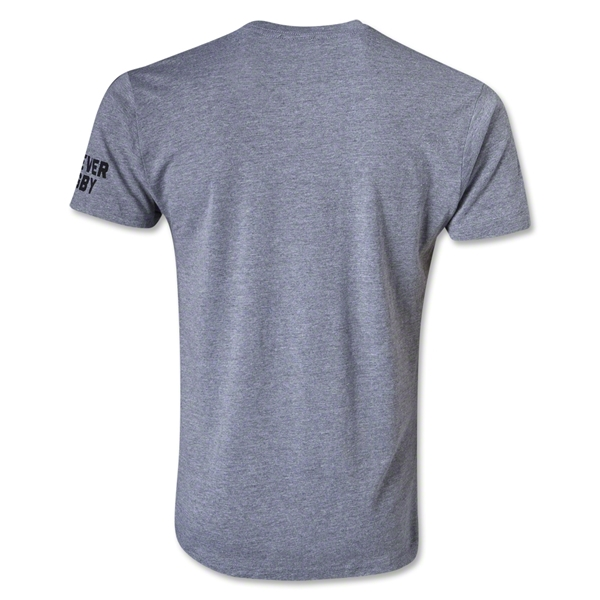 Bakline Afraid to Fail Rugby T-Shirt (Gray)