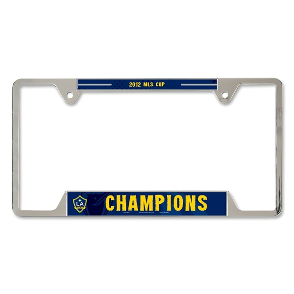 MLS 2012 Cup Winner Metal License Frame