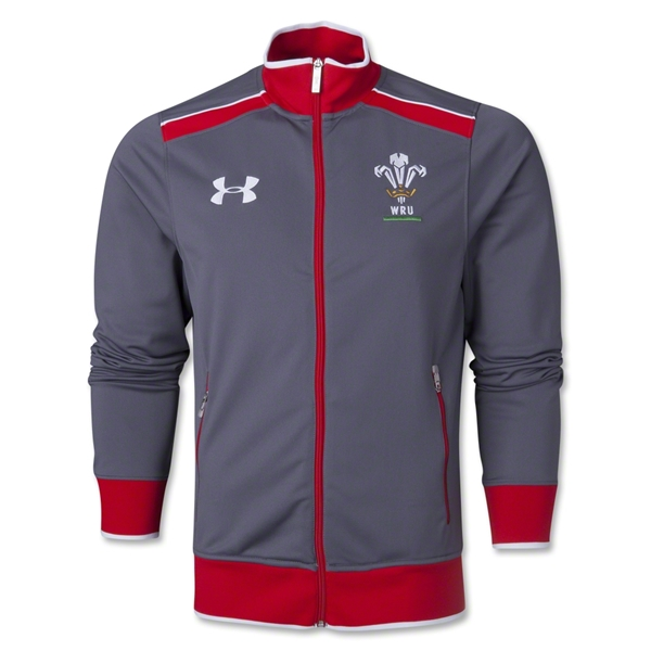 Wales Rugby Track Jacket (Dark Gray)