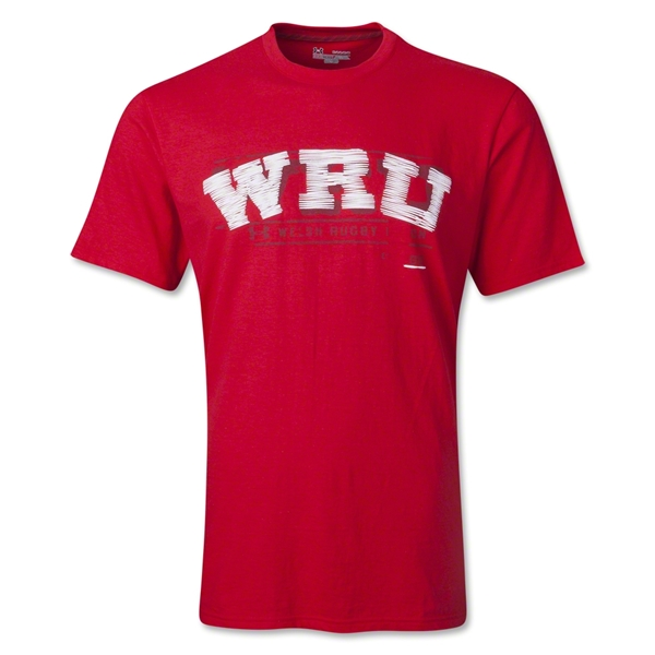 Wales Rugby Script T-Shirt (Red)