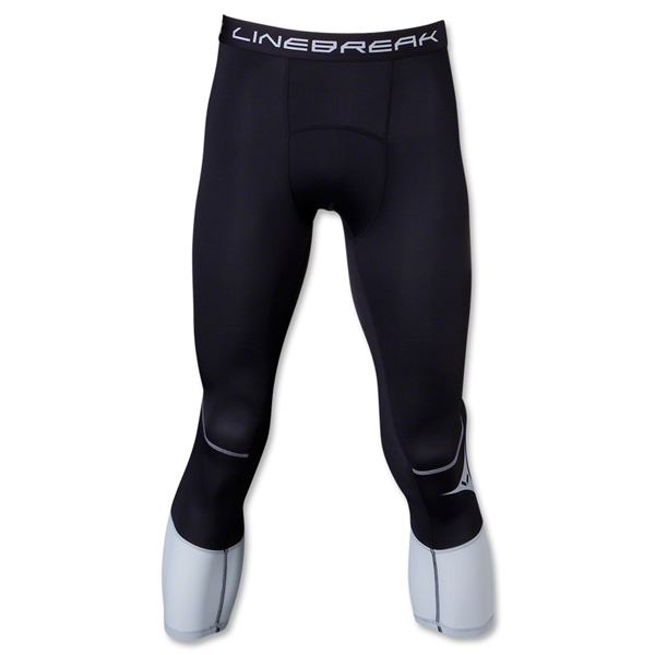 Linebreak 3/4 Compression Tight (Black/Silver)