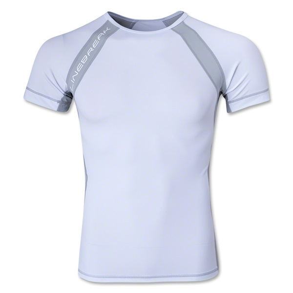 Linebreak Performance Compression T-Shirt (White)