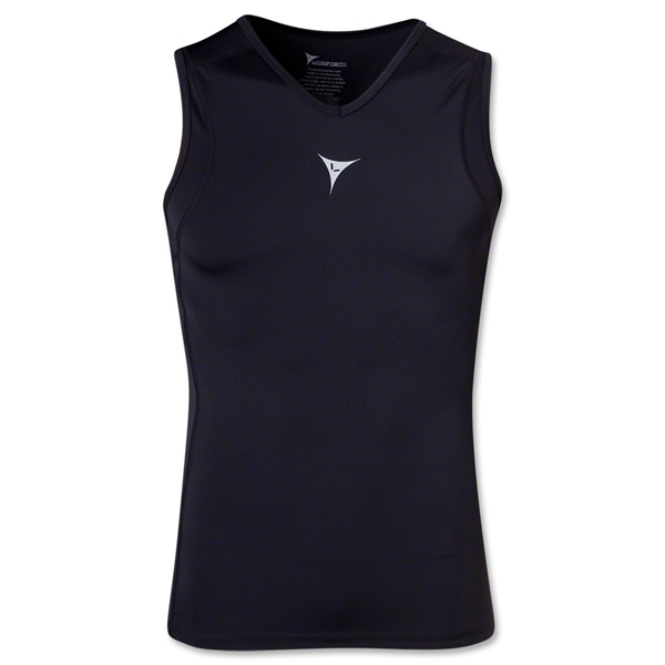 Linebreak Sleeveless Compression Tank (Black)