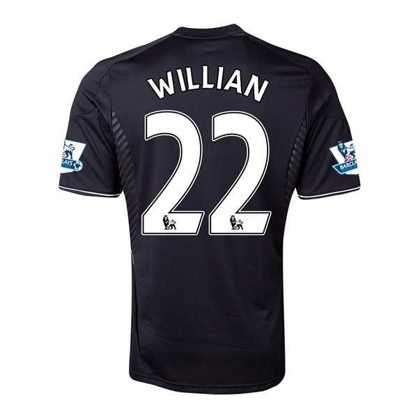 Chelsea 13/14 22 WILLIAN Third Soccer Jersey