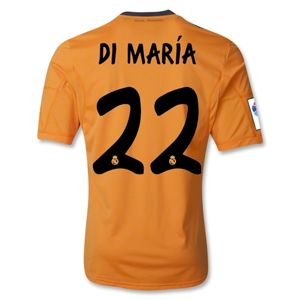 Real Madrid 13/14 DI MARIA Third Soccer Jersey
