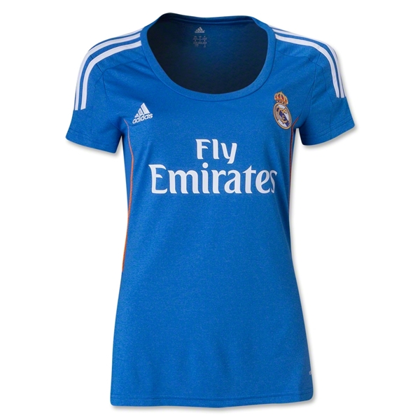 Real Madrid 13/14 Women's Away Soccer Jersey