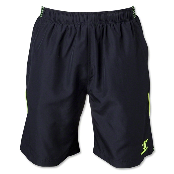 Warrior Gambler Training Woven Short (Black)