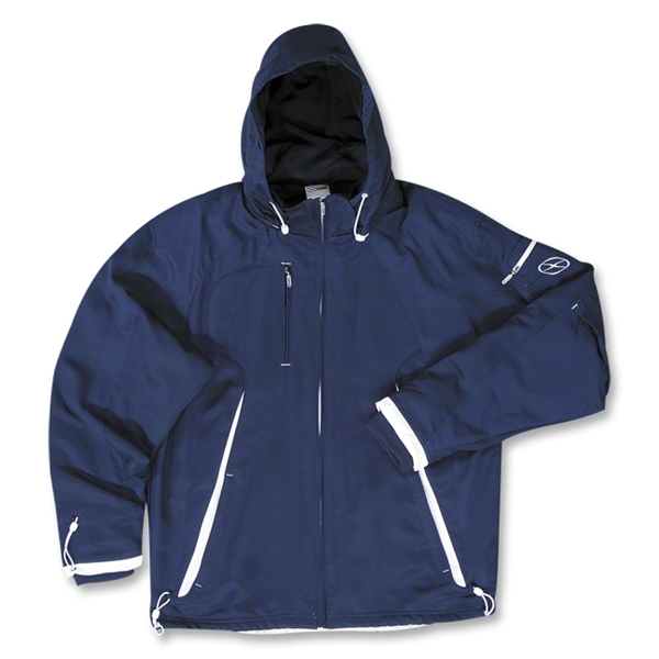 Xara Barcelona Soccer Jacket (Navy/White)