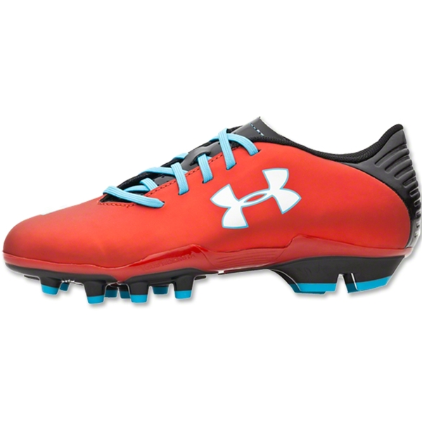 Under Armour Blur Flash III FG Junior (Red/Black/Pirate Blue)