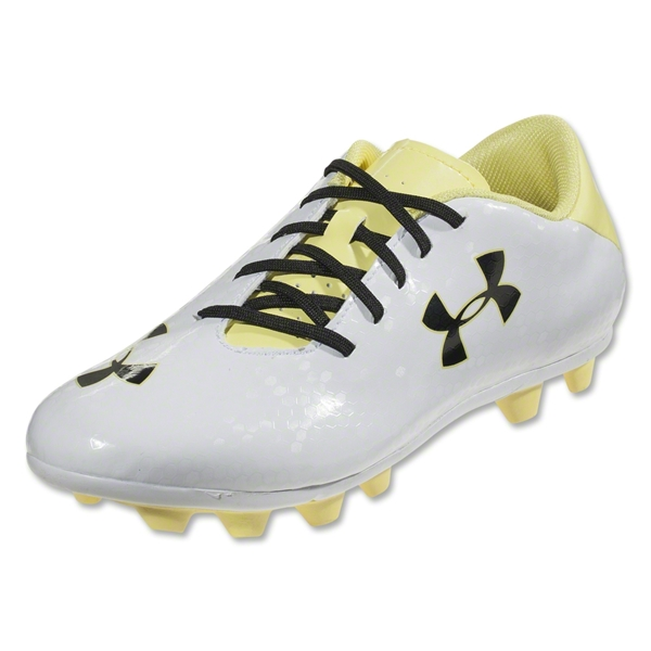 Under Armour Blur III HG Junior (White/Sonic Yellow/Black)