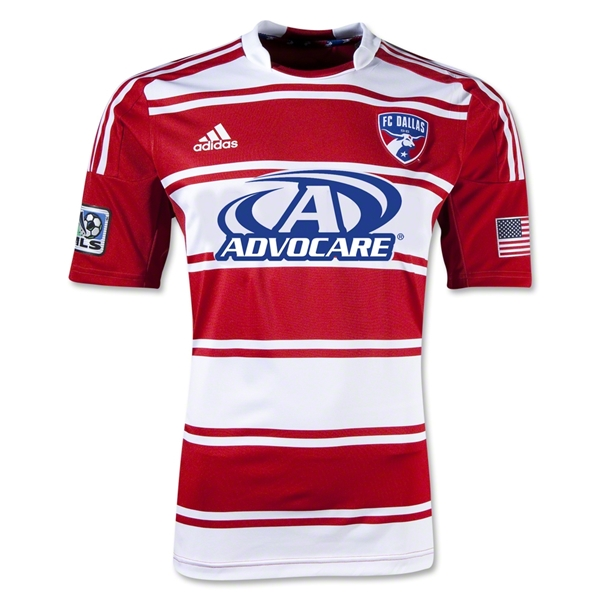FC Dallas 2013 Authentic Home Soccer Jersey