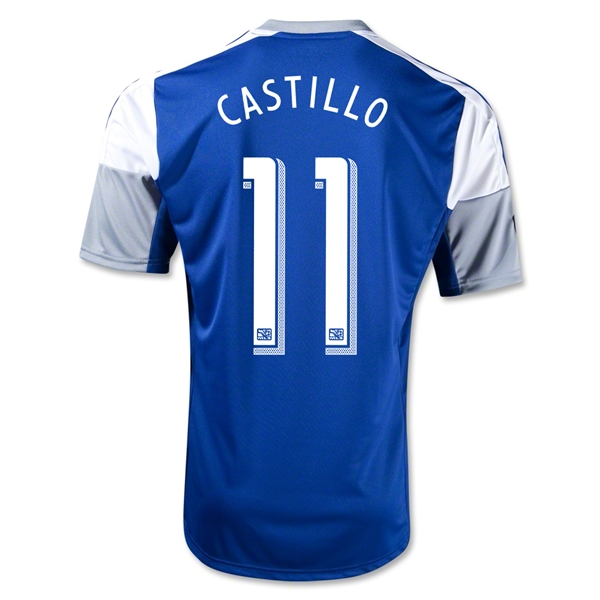 FC Dallas 2013 CASTILLO Secondary Soccer Jersey