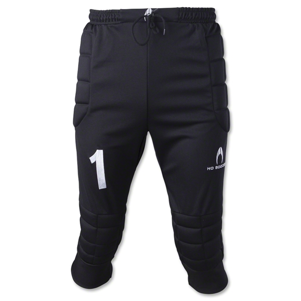 Ho Soccer 3/4 Uno Goalkeeper Pants (Black)