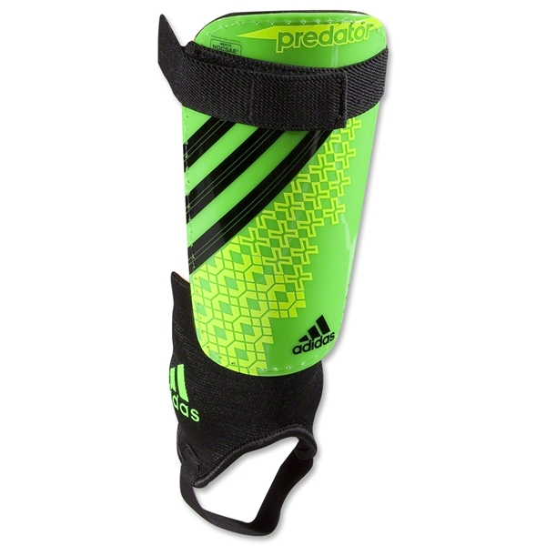 adidas Predator Club Shinguard (Ray Green/Electricty)