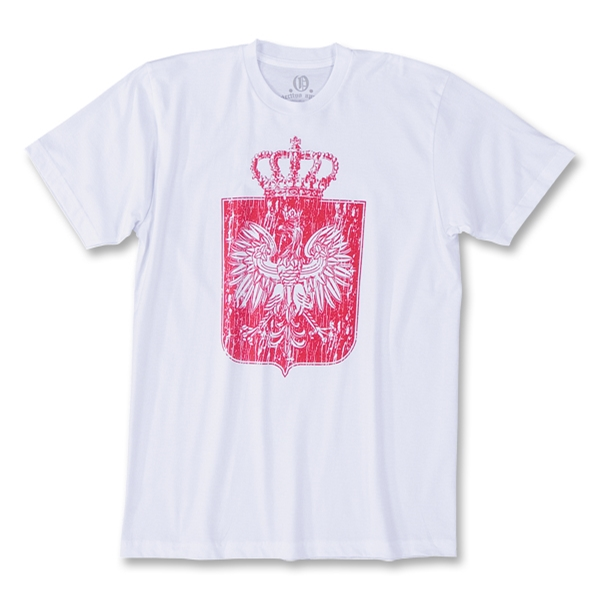 Objectivo Polska Crown Soccer T-Shirt (White)