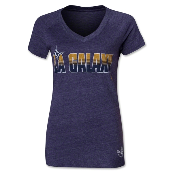 LA Galaxy Originals Women's Header T-Shirt