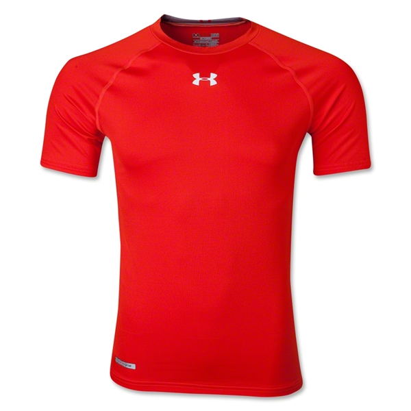 Under Armour Heatgear Sonic Compression T-Shirt (Orange)