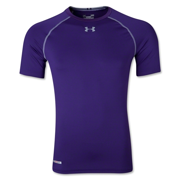 Under Armour Heatgear Sonic Compression T-Shirt (Purple)