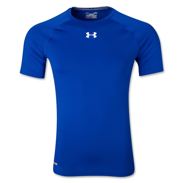 Under Armour Heatgear Sonic Compression T-Shirt (Royal)