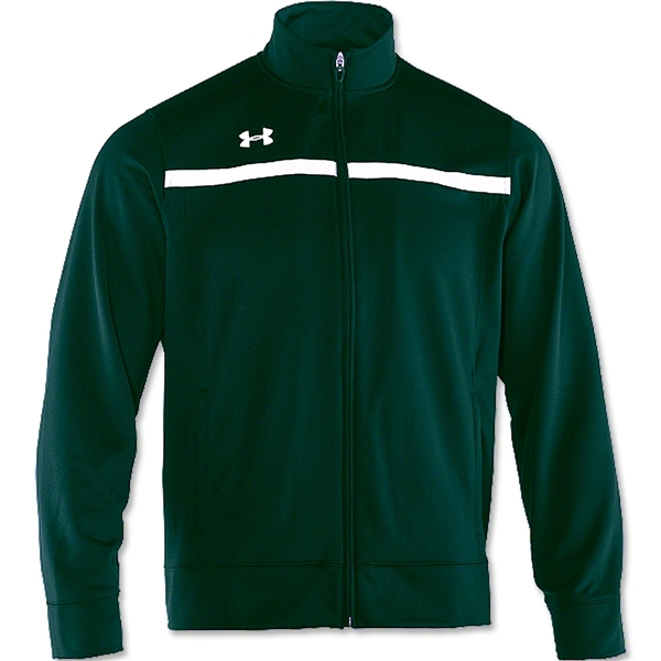 Under Armour Campus Warm-Up Jacket (Dk Gr/Wht)