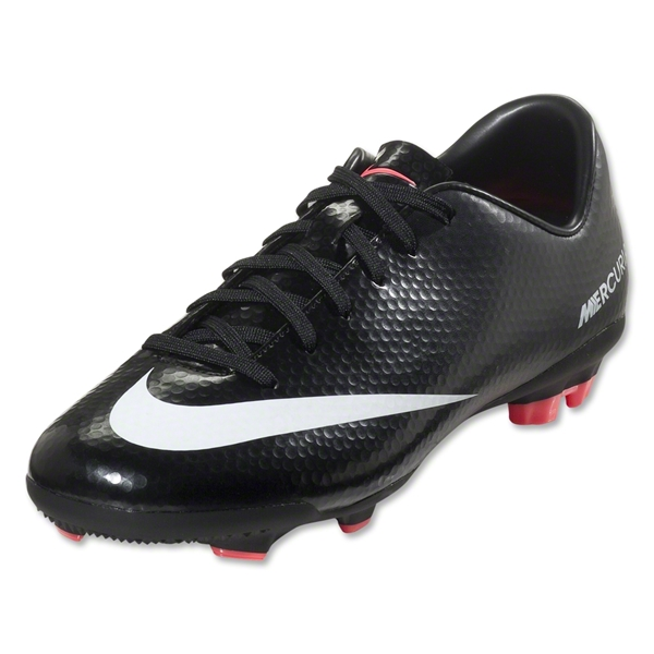 Nike Junior Mercurial Veloce FG (Black/White)