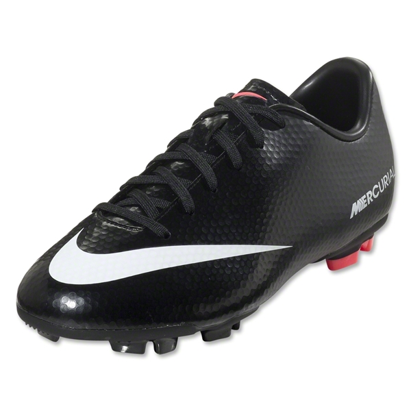 Nike Junior Mercurial Victory IV FG (Black/White)