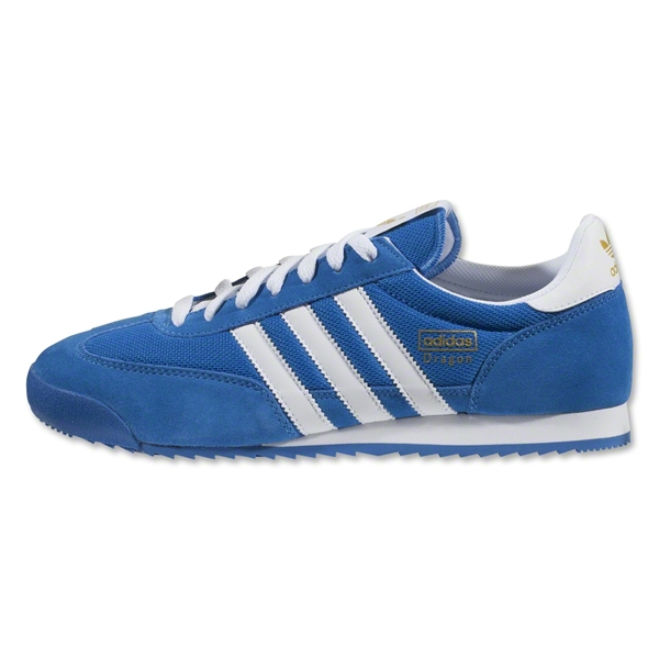 adidas Originals Dragon Leisure Shoe (Bluebird/White/Metallic Gold)