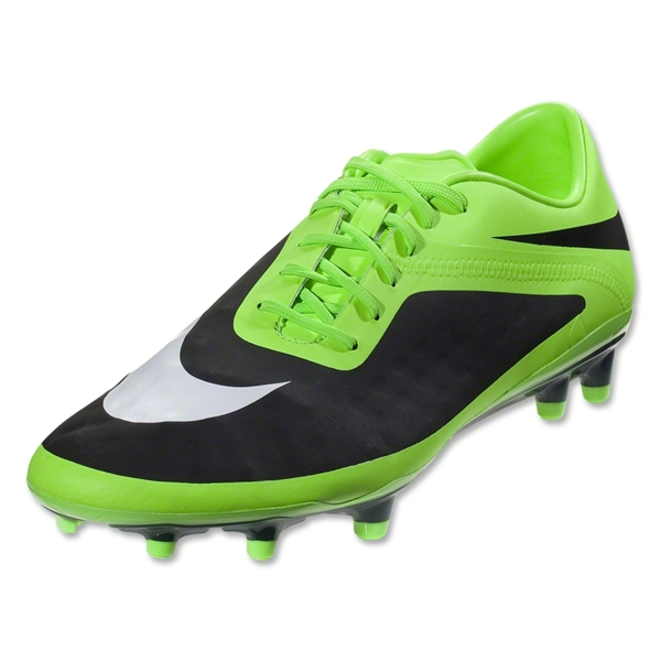 Nike T90 Strike IV FG Cleats (Black/Metallic Luster/Tour Yellow)
