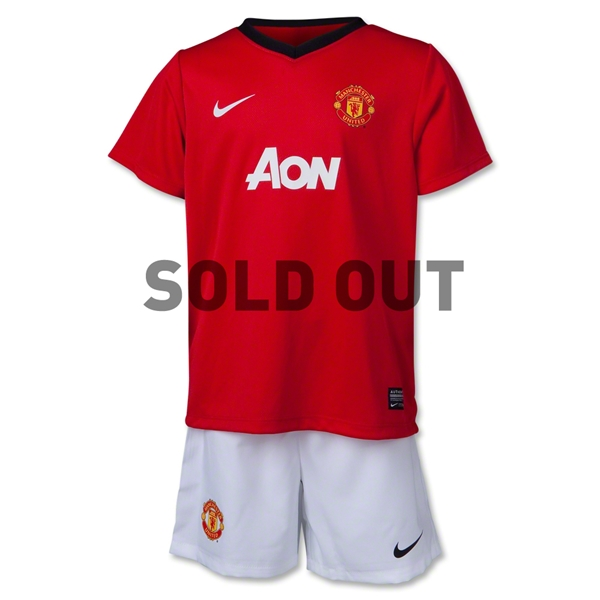 Manchester United 13/14 Kids Home Soccer Kit