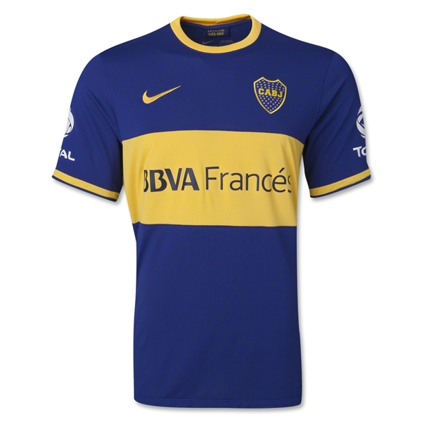 Boca Juniors 13/14 Home Soccer Jersey
