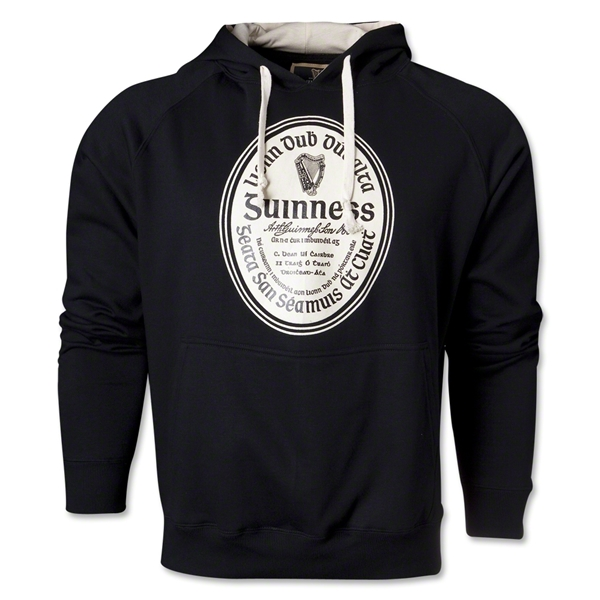 Guinness Label Hoody (Black)