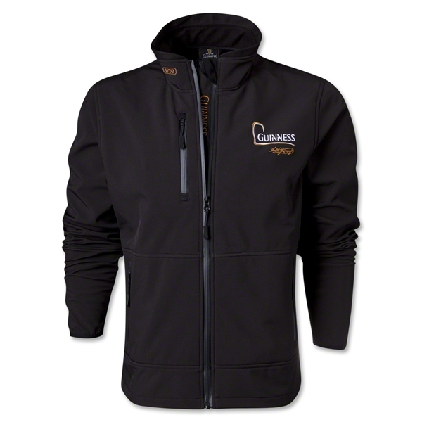 Guinness Soft Shell Jacket (Black)